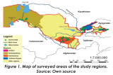 THE PATTERNS AND EXTENT OF CROP DIVERSIFICATION: EVIDENCE FROM DIFFERENT AGRO-ECOLOGICAL REGIONS OF UZBEKISTAN. A.E. Primov - PhD student, Tashkent State Agrarian University